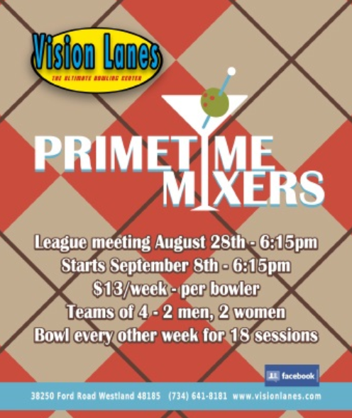 Prime Time Mixers 2018