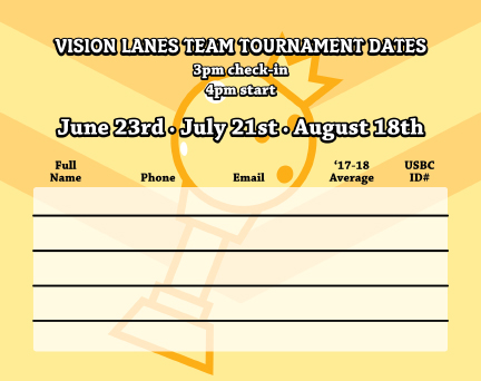 team tournament dates 2019